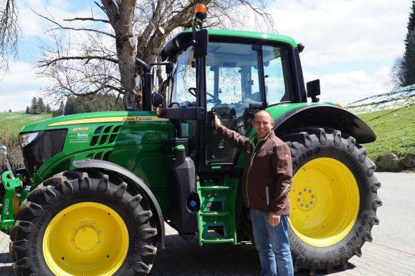 Bauer Ewalds neuer Traktor