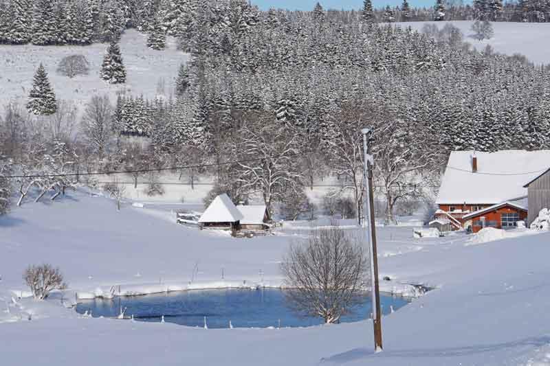 Kernenhof im Winter