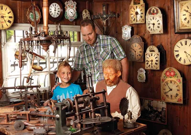 Triberg Schwarzwaldmuseum Uhrmacherwerkstatt
