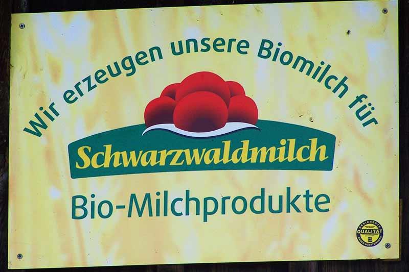 Schwarzwaldmilch Plakette